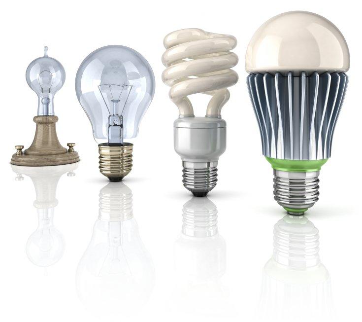 Find de bedste LED pærer til prisen på nettet