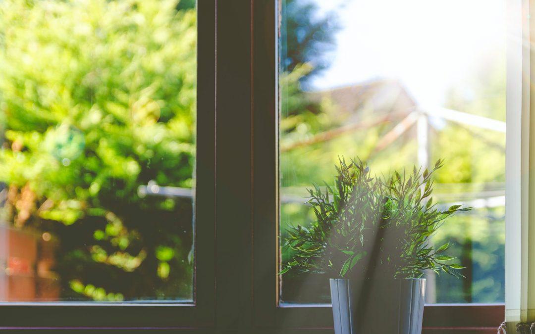 Sundt for sjælen med rene vinduer